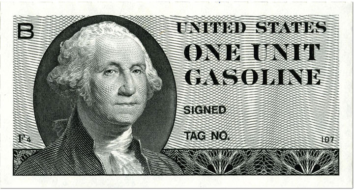 a single 1974 gas coupon