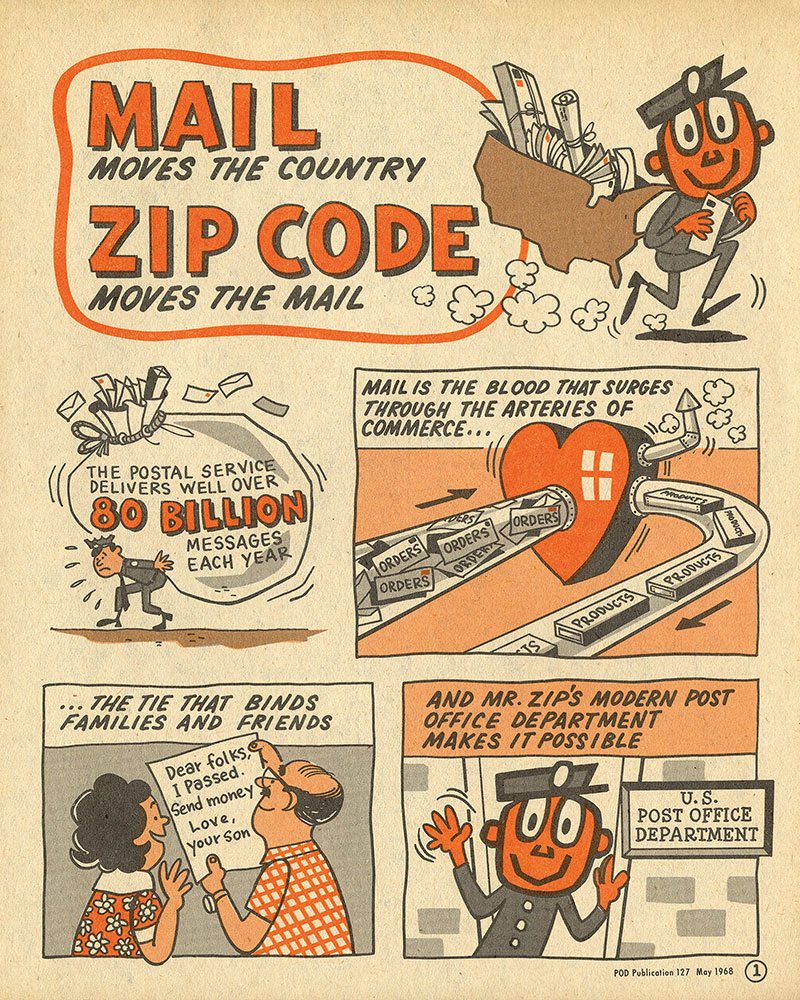 ¡Mr. ZIP tiene su propio cómic!