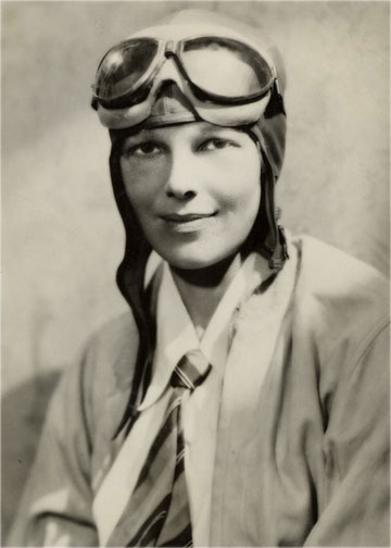 photo of Earhart