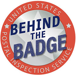 Behind the Badge exhibit logo