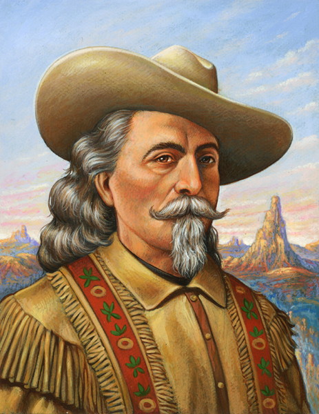 painting of Buffalo Bill