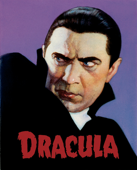 painting of Bela Lugosi as Dracula