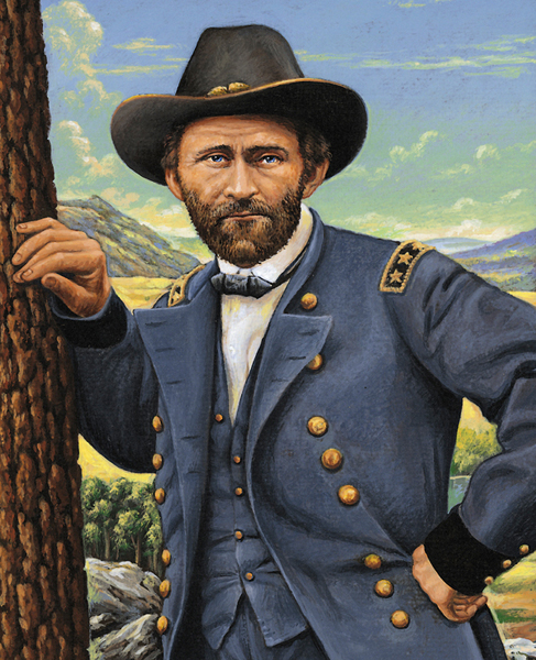 painting of Ulysses S. Grant