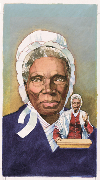 painting of Sojourner Truth