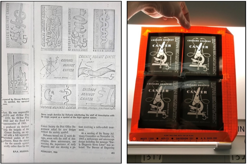 photos from the stamp design files