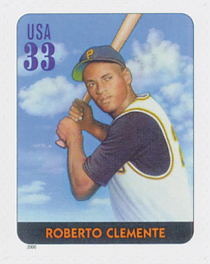 33-cent Roberto Clemente stamp
