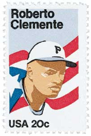 20-cent Roberto Clemente stamp