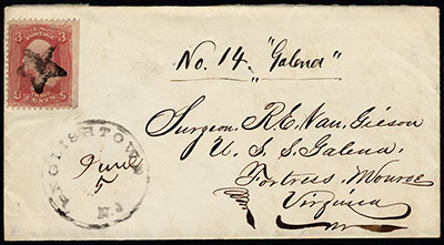 an 1862 envelope