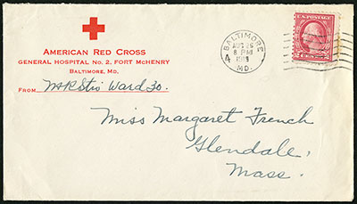 Fort McHenry Red Cross hospital cover