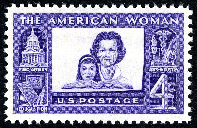4-cent American Woman stamp