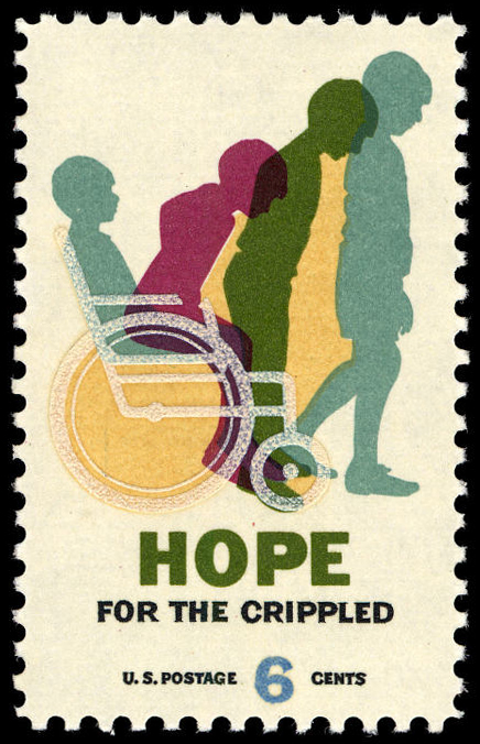 6-cent Hope for the Crippled stamp