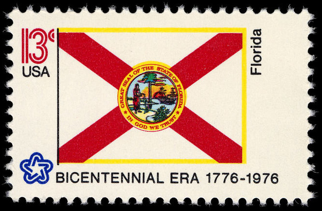 13-cent Florida stamp