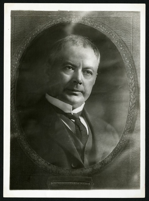 Photograph of Postmaster General Burleson