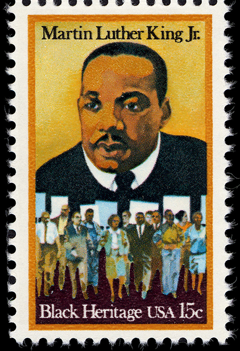 15-cent Martin Luther King Jr. stamp