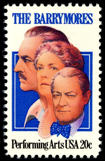 20-cent The Barrymores stamp