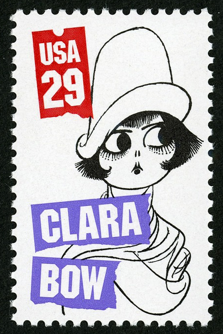 29-cent Clara Bow stamp