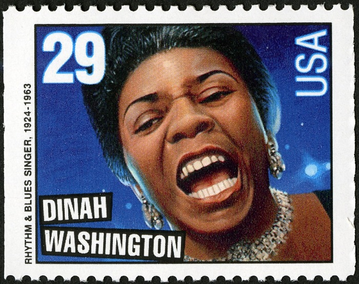 29-cent Dinah Washington stamp