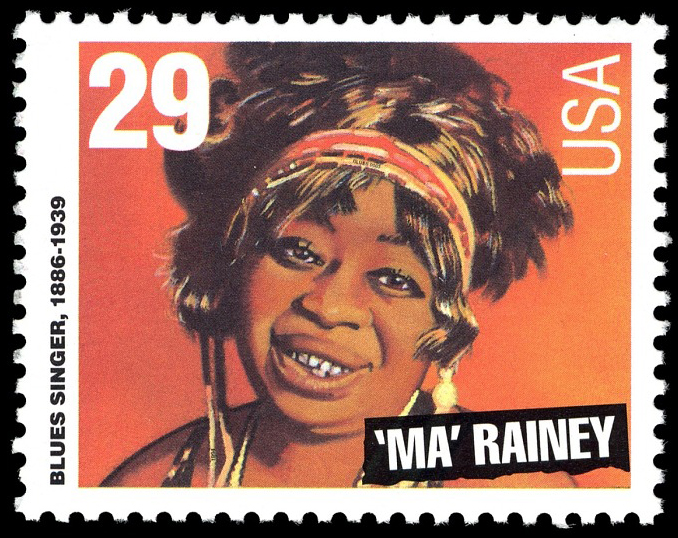 29-cent Ma Rainey stamp