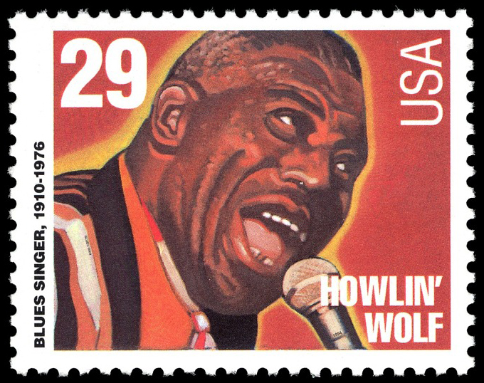 29-cent Howlin Wolf stamp