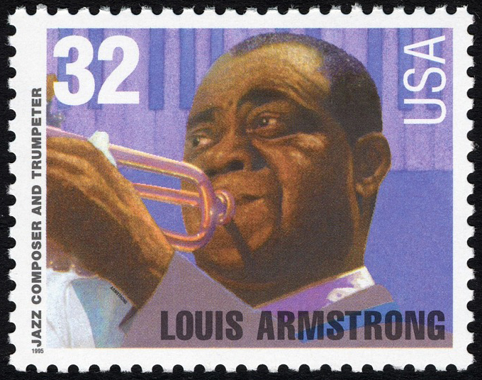 32-cent Louis Armstrong stamp