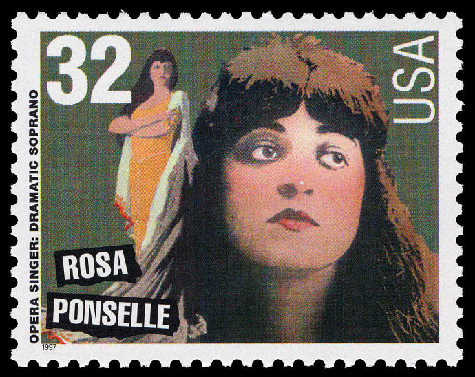 32-cent Rosa Ponselle stamp
