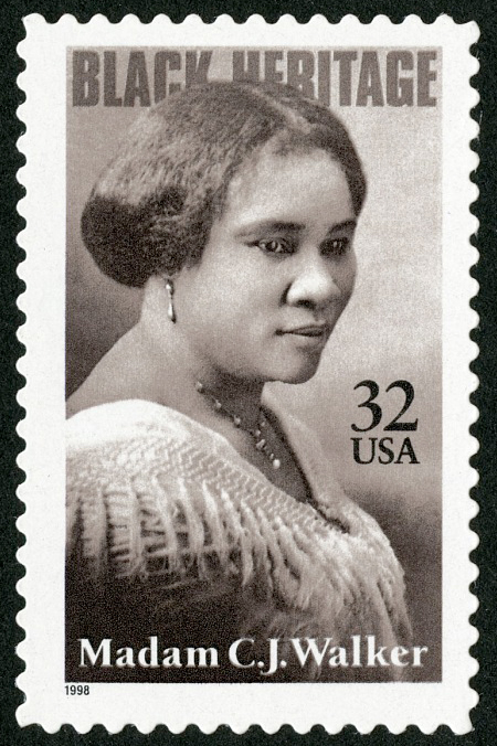 32-cent Madam C.J. Walker stamp