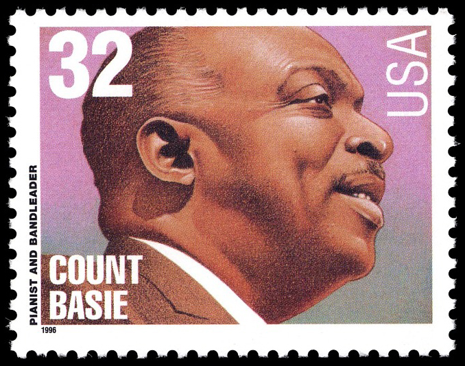 32-cent Count Basie stamp