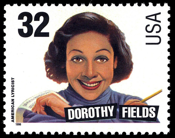32-cent Dorothy Fields stamp