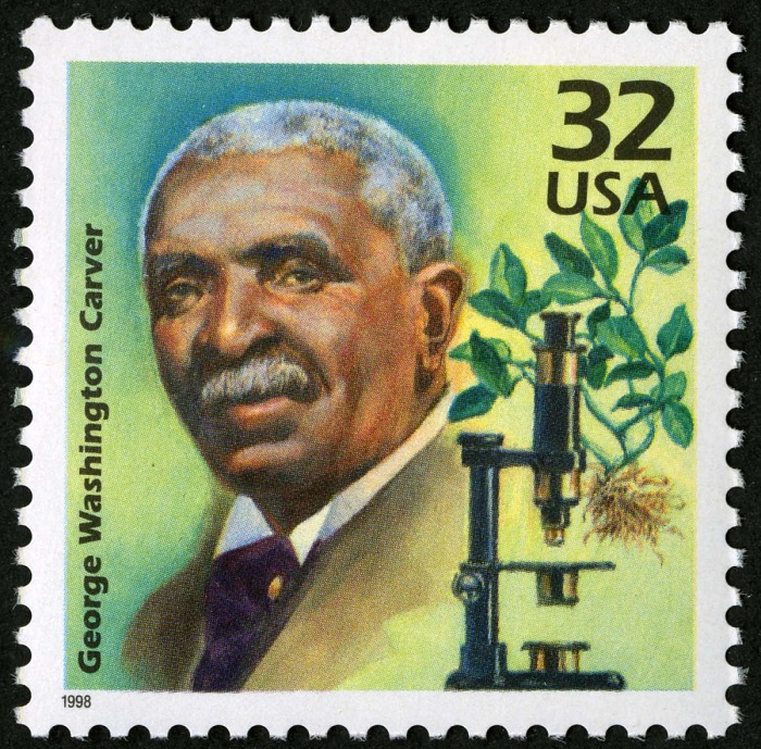 32-cent George Washington Carver stamp