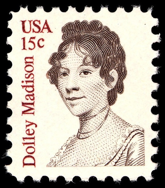 15-cent Dolley Madison stamp