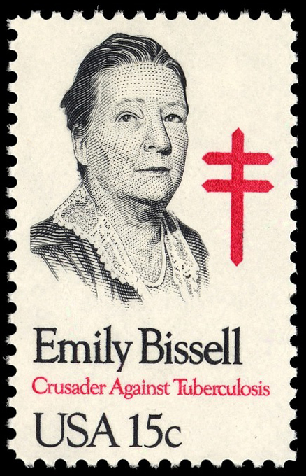 15-cent Emily Bissell stamp