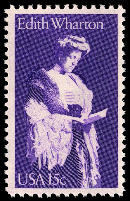 15-cent Edith Wharton stamp