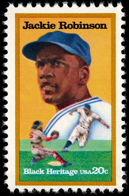 20-cent Jackie Robinson stamp