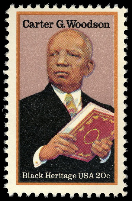20-cent Carter G. Woodson stamp