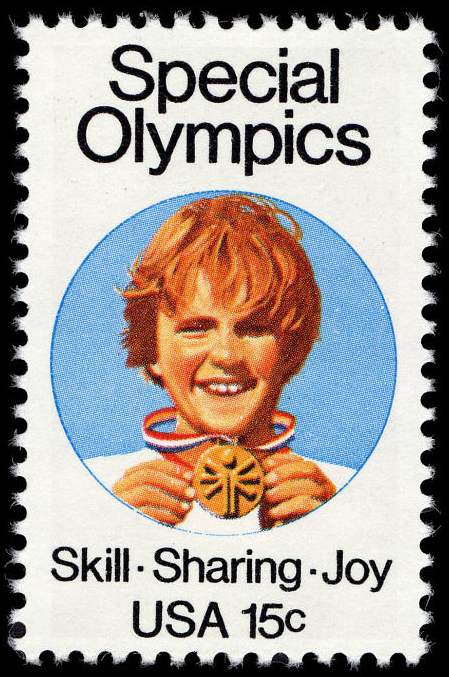 15-cent Special Olympics stamp