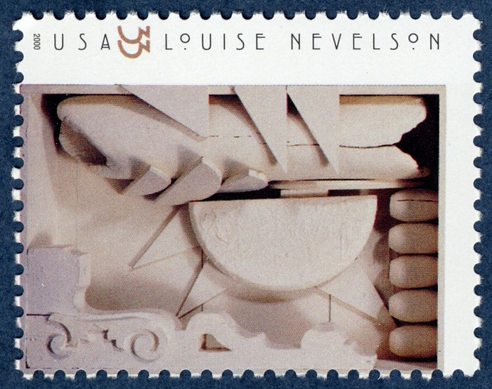 33-cent Nevelson stamp