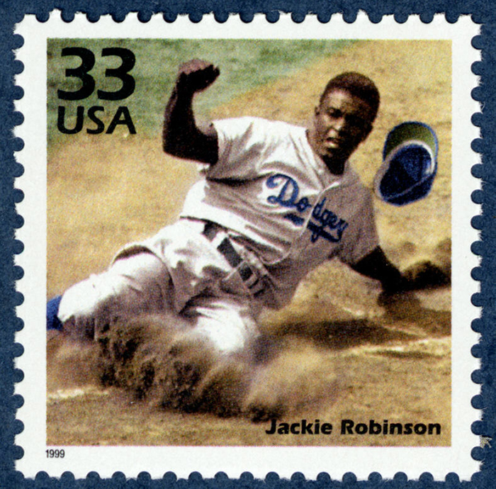 33-cent Jackie Robinson stamp