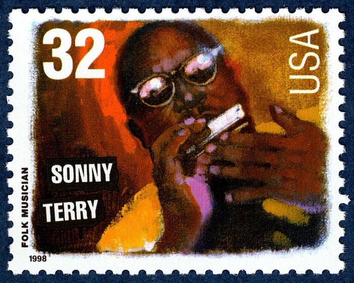 32-cent Sonny Terry stamp