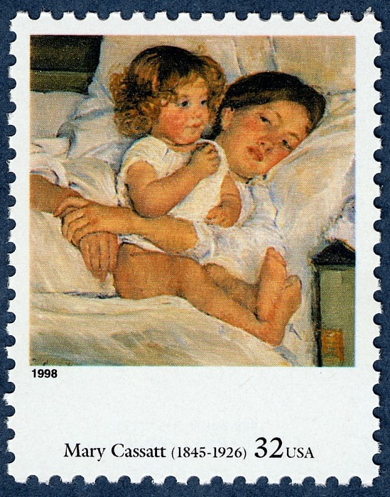 32-cent Breakfast in Bed stamp