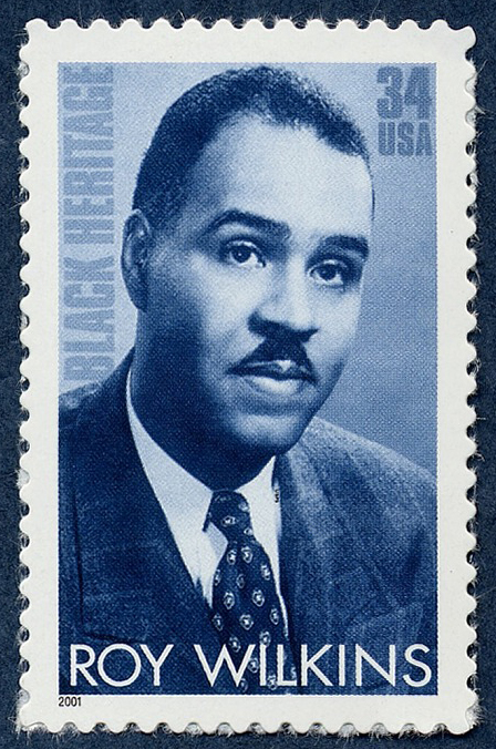 34-cent Roy Wilkins stamp