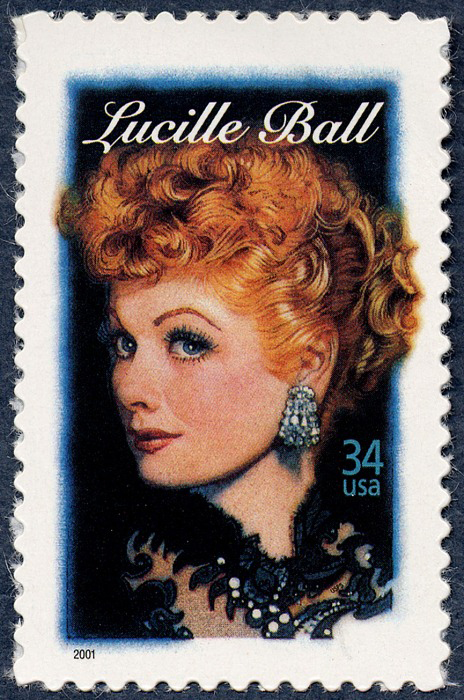 34-cent Lucille Ball stamp