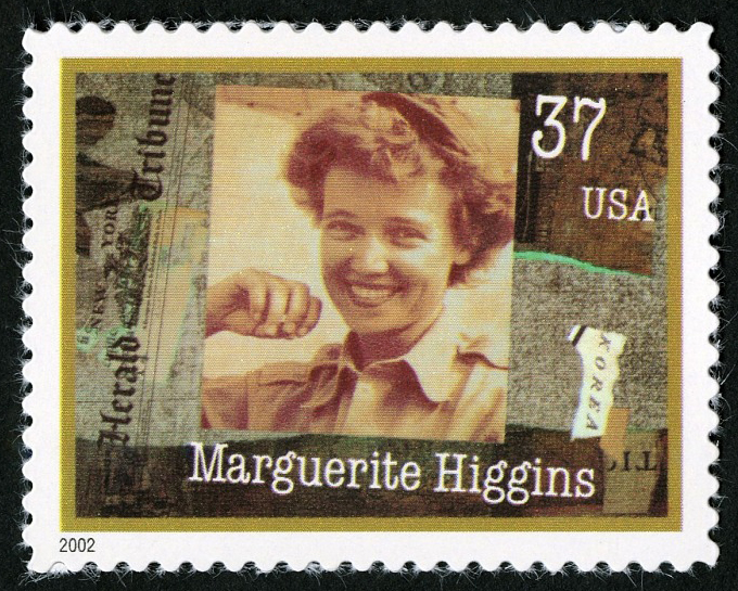 37-cent Marguerite Higgins stamp