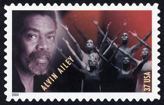 37-cent Alvin Ailey and Dancers stamp