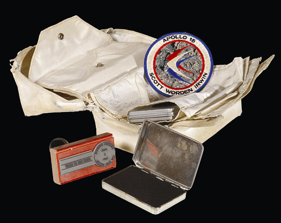 Apollo 15 Lunar Mail pouch
