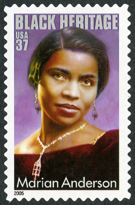 37-cent Marian Anderson stamp