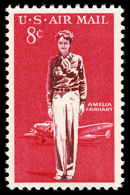 8-cent Amelia Earhart stamp