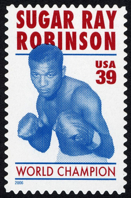 39-cent Sugar Ray Robinson stamp
