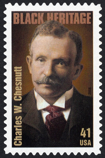 41-cent Charles W. Chesnutt stamp