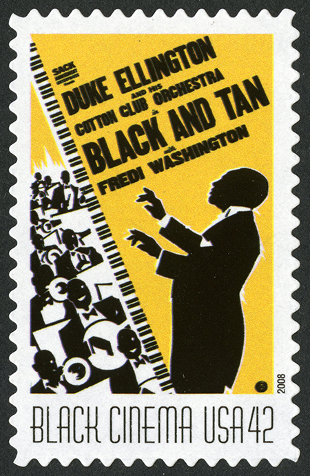 42-cent Black and Tan stamp