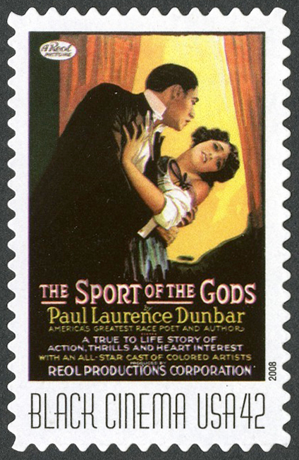 42-cent The Sport of the Gods stamp